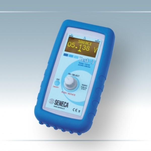 Test-3 Generatore misuratore di Tensione (V) e Corrente