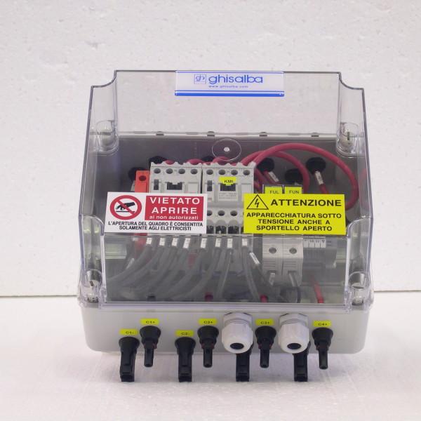 Dispositivi di isolamento per impianti fotovoltaici