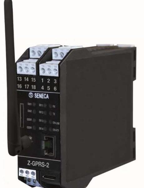Z-GPRS2 – Micro RTU multiprotocollo Plc Datalogger