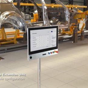 Advantech Panel Pc             con pulsanti integrati
