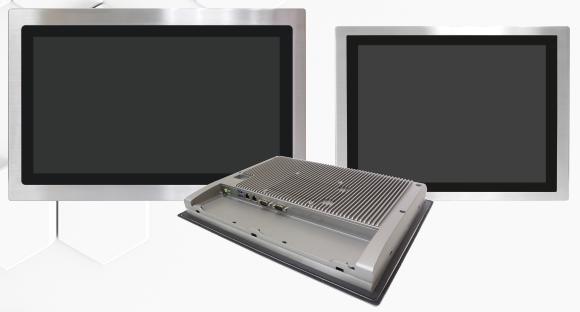 PC e Monitor con frontale Inox